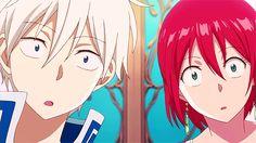 Kokoro no Shojo Anime Gifs, Manga Anime, Zen Wisteria, Akagami No Shirayukihime, Snow White With The Red Hair, Gekkan Shoujo, Cute Anime Coupes, My Fantasy World, Anime Japan