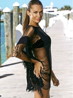 PilyQ 2015 Swimwear: Lace Diva cover up | Swimwear World