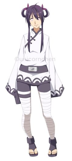 Hyuuga oc - Hikami fullbody by unicornchen on DeviantArt