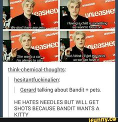 THIS IS TOO SWEET AND ADORABLE AND NICE AND GERARD