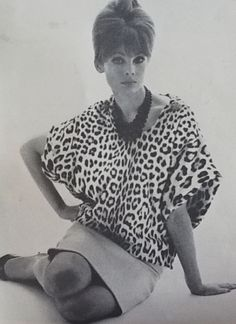 Jean Shrimpton in Vogue UK March 1963 by Bailey