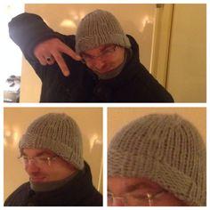 """Muts, speciaal gemaakt voor Sjoerd!  Super Bulky Hat """"Sjoerd"""" knitting (pattern will soon be available @ ravelry"""