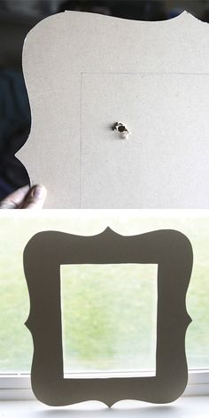 DIY photo frame ~ why mess with wood & a dangerous saw when you can make it with fun foam???  (jmho)