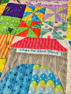 Snippets 'n' Scraps: My Small World Quilt