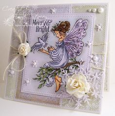 Gorgeous creation by Mandy for the Simon Says Stamp Wednesday challenge (Winter Inspiration)