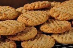 Simple and quick -- I'm not usually a peanut butter cookie fan, but these are tasty! I substituted all granulated sugar for the half granulated / half brown sugar because I had run out of brown sugar. The substitution made the cookie slightly more like shortbread, crispy and light.