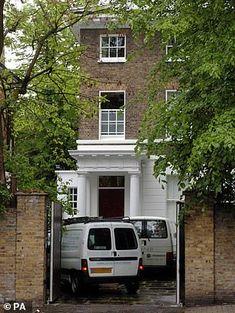 INSIDE PAUL MCCARTNEY 7 CAVENDISH AVENUE LONDON HOUSE ...