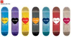Chocolate  Heart series  Skateboard graphics  Skateboarding