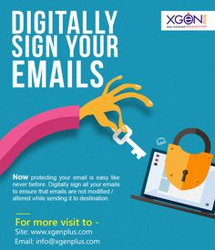 Concerned about your security of emails? If so, it's worth looking at the secure encrypted email solution, XgenPlus -The most secure email provider. Digital Signature, Email Providers, Social Channel, Website, Easy