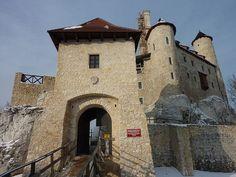 Замок Боболице (Zamek Bobolice) - Замки Польши
