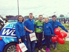 The WLR Street Team managed to nab Sean Kelly himself for a photo at the Family Cycle in Dungarvan! We're here handing out goodies thanks to @flahavans so whether you're taking part or just passing by come say hi  #LifeAtWLR #SeanKellyCycle #Flahavans