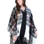 Sexton in the City Boutique Girls Cape, London Girls, Plaid Scarf, Must Haves, Weather Check, Scarves, Kimono Top, Boutique, Stuff To Buy