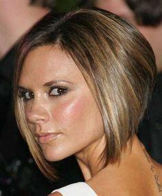 Victoria Beckham Hair Back View
