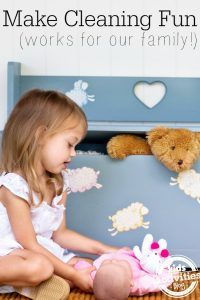 Make cleaning fun - some great ideas here