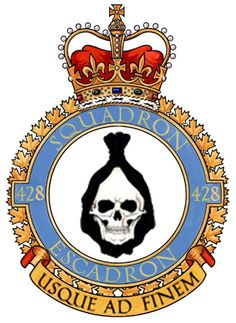 RCAF 428 (Bomber-All-Weather Fighter) Squadron (Deactivated) Afghanistan War, Military Insignia, Royal Air Force, Rare Photos, Coat Of Arms, Armed Forces, World War Two, Middle Ages, Wwii