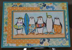 Cool penguin beach