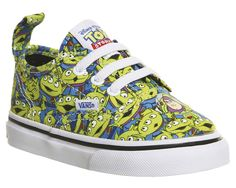 Vans Authentic Velcro Lace Toddlers Aliens Toy Story