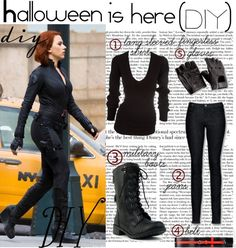 black widow avengers costume diy - Google zoeken