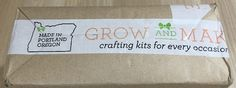 Grow and Make Subscription Box Review + Coupon – June 2016 - Check out our review of the June 2016 Grow and Make DIY Subscription Box!