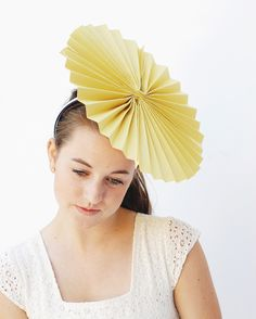 accordion paper party hats