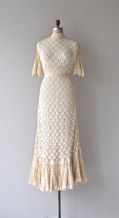 Steigende Geist Brautkleid Jahrgang 1970er Jahre von DearGolden