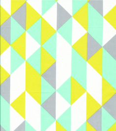 Cloud 9 Premium Quilt Fabric On Point Minty Fabric Crafts, Sewing Crafts, Paper Crafts, Cloud 9, Online Craft Store, Craft Stores, Textile Patterns, Geometric Patterns, Textiles