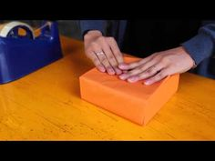 How to do a Japanese Gift Wrap - YouTube