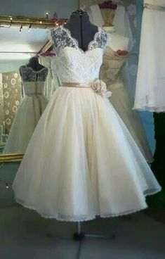 Wedding dress vintage country