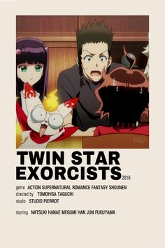 Twin Star Exorcists Minimalist