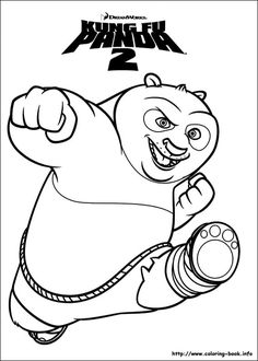 40 Printable Kung Fu Panda Coloring Pages for Kids >> Disney Coloring Pages