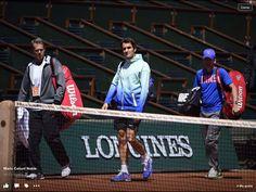 Rolando Garros 2015 with Roger Federer
