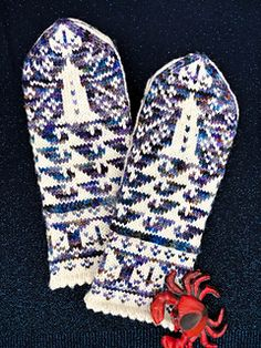 Ravelry: Mill Wharf Mittens pattern by Tanis Gray Mittens Pattern, Knit Mittens, Fair Isle Knitting, Ravelry, Projects To Try, Gloves, Grey, Blog, Nautical