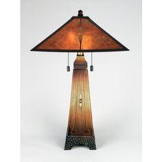 Quoizel Mica Collection Table Lamp - LightingCatalog.com