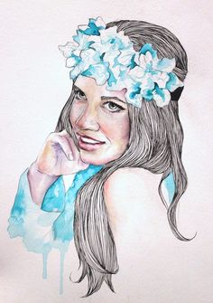 watercolour and graphite / Artist Ame Soler