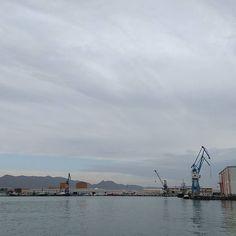 Port de #Castelló #núvol #nubes #clouds