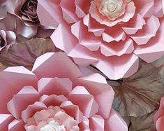 Paper Flower Template PDF file 26