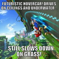 The bane of every Mario Kart 8 players existence.