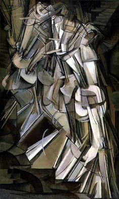 Nude Descending a Staircase No. 2, Marcel Duchamp