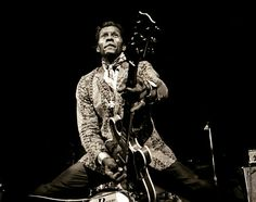 Chuck Berry, Madison square garden, 1969. by Jim Marshall