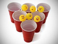 Emoji Beer Pong Balls