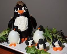 Penguin party food fun