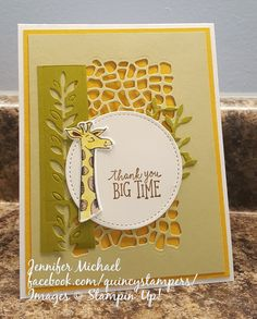 Stampin' Up! Quincy Animal Outing Card
