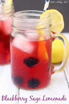Blackberry Sage Lemonade