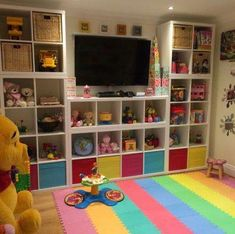 Marvelous childrens playroom - kindly visit our post for additional inspiring ideas! Marvelous childrens playroom - kindly visit our post for additional inspiring ideas! Small Playroom, Toddler Playroom, Playroom Design, Playroom Decor, Toddler Toys, Playroom Ideas, Children Playroom, Kids Rooms, Toy Room Organization