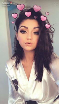 Andrea Russett, Pretty, Inspiration, Beautiful, Selfies, Snapchat, Angel, Iphone, Girls