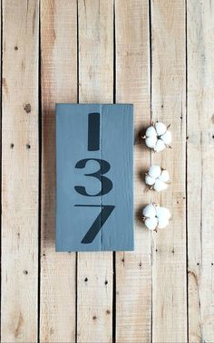 Address Plaque, House Number Sign, Chalk Paint, Rustic Wood Sign, Urban Farmhouse, Pallet Sign, Porch Decor,  Number Art, Personalized Address Signs, Address Plaque, Number Art, Urban Farmhouse, Rustic Wood Signs, Pallet Signs, House Numbers, Porch Decorating, Wood Pallets