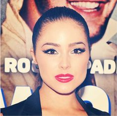 Miss Universe Olivia Culpo wears Ardell Lashes at the premiere of Grown Ups 2.
