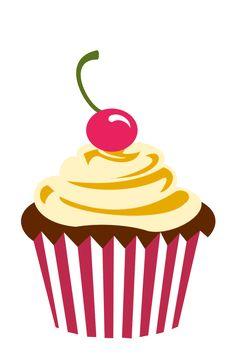 mil gracias por tu visita theme cupcake clipart google search cupcakes ...