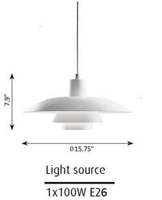louis poulsen ph 4 3 pendelleuchte leuchten pinterest. Black Bedroom Furniture Sets. Home Design Ideas