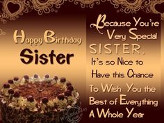 Happy Birthday Little Sister Greetings For Quotes